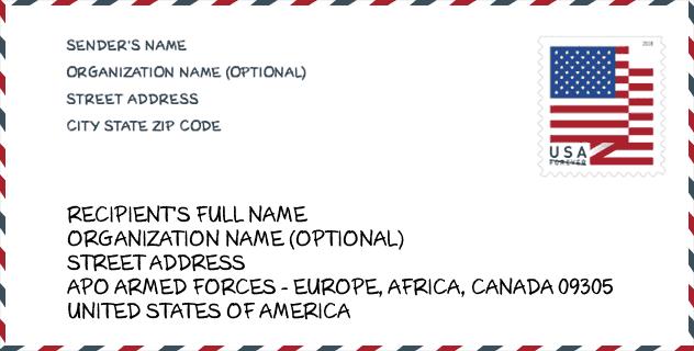 Zip Code امريكي 0