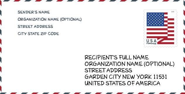 Zip Code 11531 Garden City Roosevelt Field Ny United States