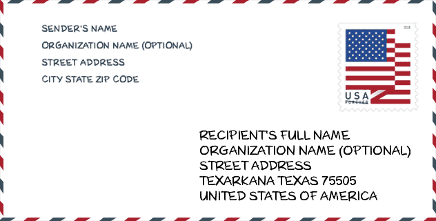 ZIP Code: 75505, Texarkana, TX | United States ZIP Code ✉️