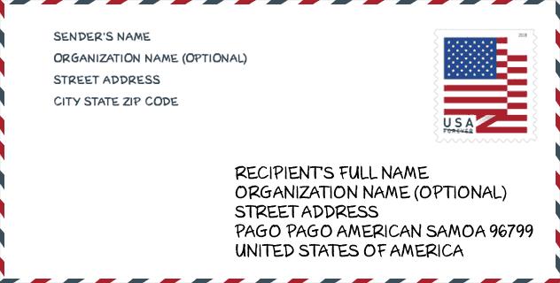 الحصول علي عنوان امريكي